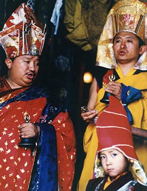 Chokling Rinpoche, Chokyi Nyima Rinpoche and Phakchock